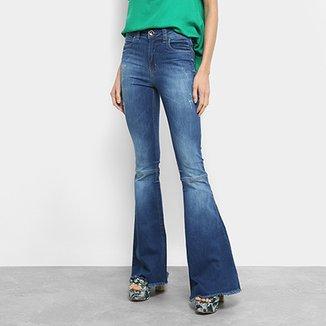 Calça Jeans Flare Colcci Cintura Média Feminina 5f3e73d967f