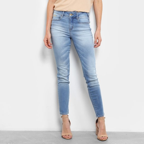 c6f028e18 Calça Jeans Skinny Colcci Cory Cintura Média Feminina - Azul   Netshoes