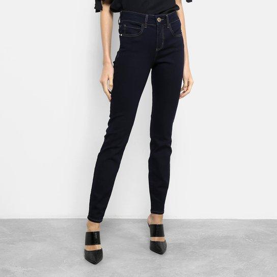 b0752e8b2 Calça Jeans Skinny Colcci Cory Cintura Média Feminina - Azul ...
