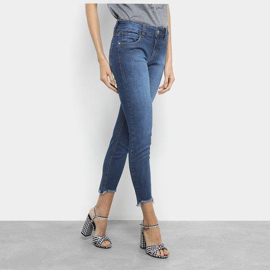 e0023e6cc Calça Jeans Cigarrete Colcci Fátima Cintura Média Feminina | Netshoes
