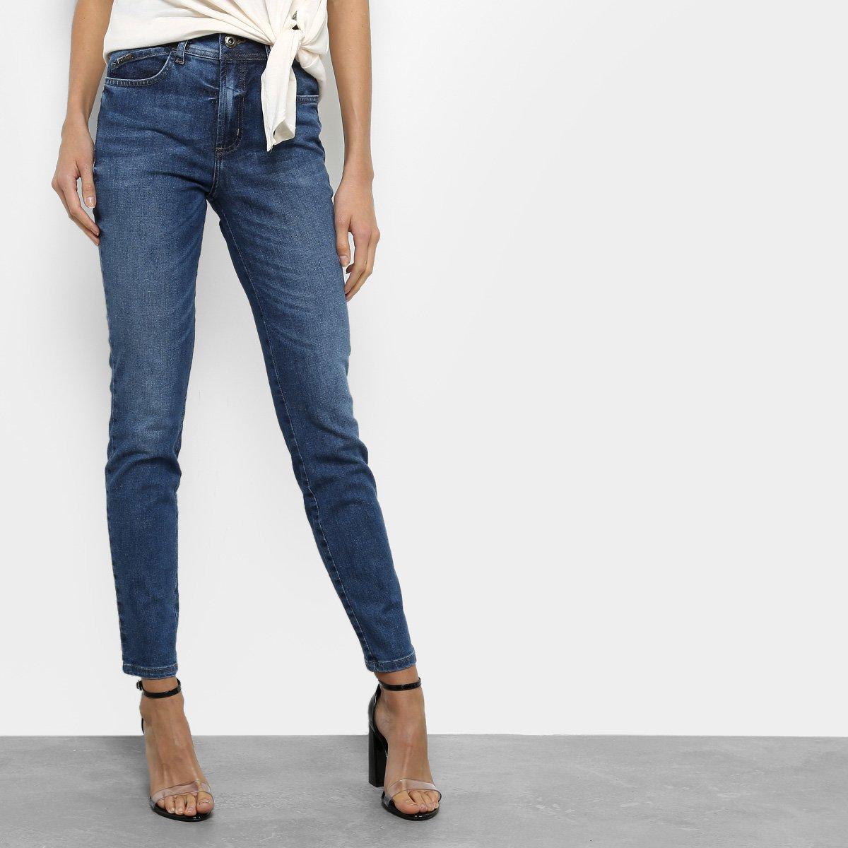 2ddf20c1c Calça Jeans Skinny Colcci Bia Cintura Alta Feminina