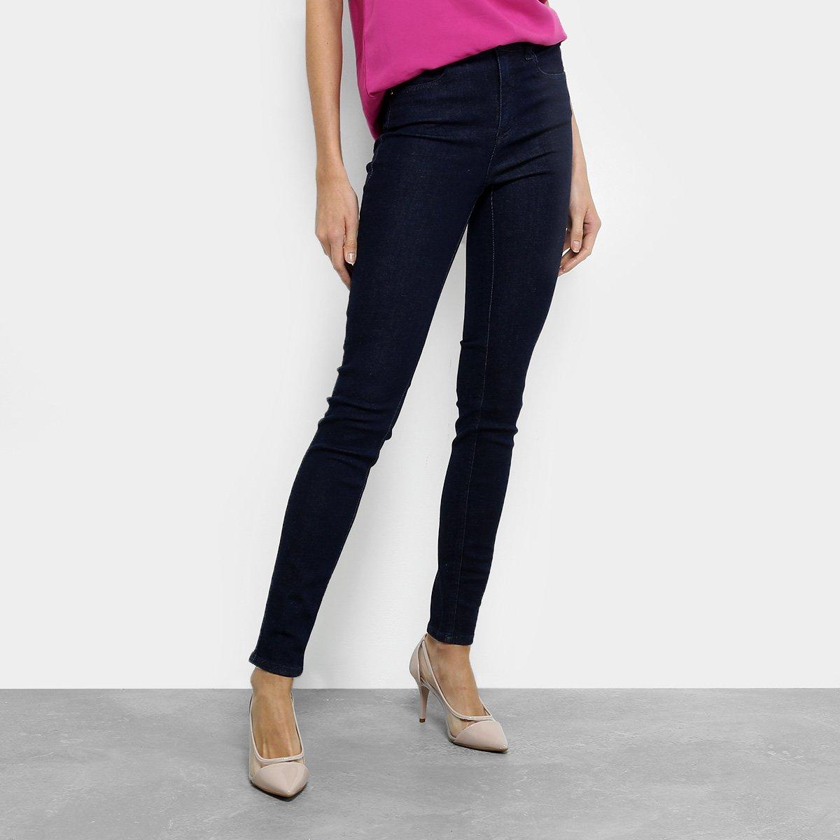 eb307e12b Calça Jeans Skinny Colcci Cintura Alta Feminina