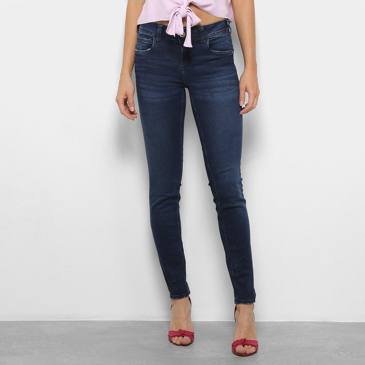 5a09841ca Calça Jeans Skinny Katy Cintura Média Feminina
