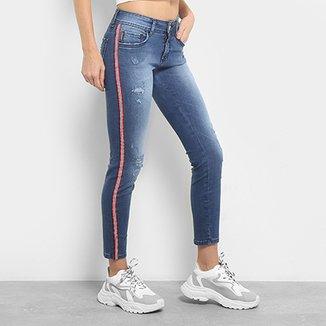 09a363b92 Calça Jeans Skinny Colcci Fátima Cintura Média Feminina