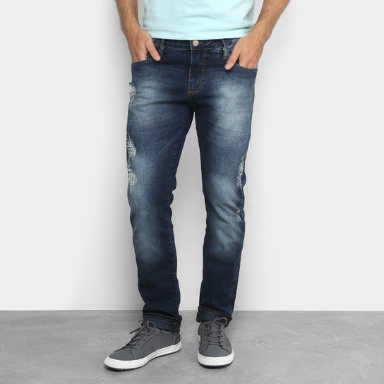 4406ef1842 Calça Jeans Reta Colcci John Destroyed Masculina - Jeans