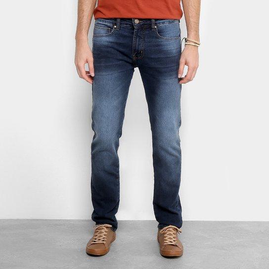 66521c891 Calça Jeans Colcci Skinny Alex Estonada Masculina - Azul Escuro ...