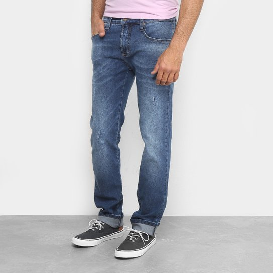 4dd006dd6 Calça Jeans Reta Colcci Alex Estonada Masculina - Compre Agora ...