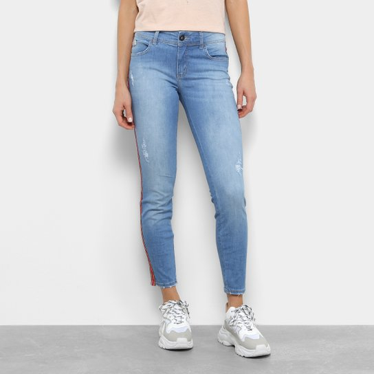 Calça Jeans Skinny Colcci Fátima Cintura Média Feminina - Azul ... 41fc454b83a