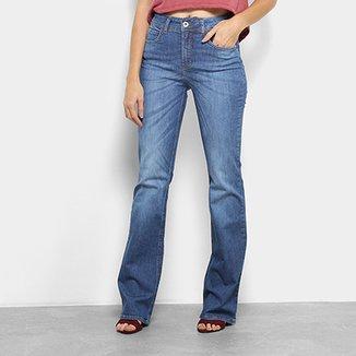 26a7c3d6d Calça Jeans Flare Colcci Kim Cintura Média Feminina