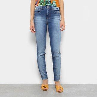 Calça Jeans Skinny Colcci Bia Cintura Média Feminina b0a5906ca931e