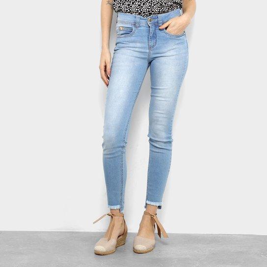 250d5a58d Calça Jeans Skinny Colcci Cory Cintura Média Feminina - Azul Claro ...