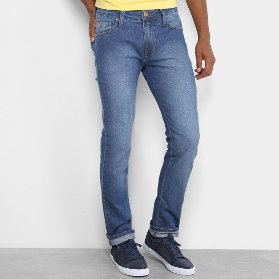 96f79f1b9 Calça Jeans Skinny Colcci Estonada Felipe Masculina | Netshoes