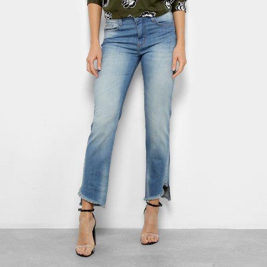 be04c5fd4 Calça Jeans Reta Forum Marisa Cintura Média Feminina - Azul | Netshoes