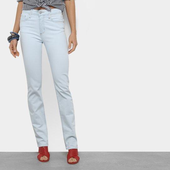 973e78fd5 Calça Jeans Slim Forum Marisa Cintura Média Feminina - Azul Claro