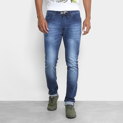 Calça Jeans Slim Forum Estonada Alexandre Masculina
