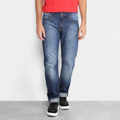 Calça Jeans Slim Forum Estonada Paul Regular Masculina