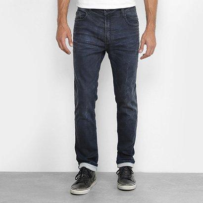 Calça Jeans Slim Ellus Lavada Masculina