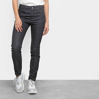 39da397d0 Calça Jeans Skinny Ellus Lavagem Escura Cintura Alta Feminina