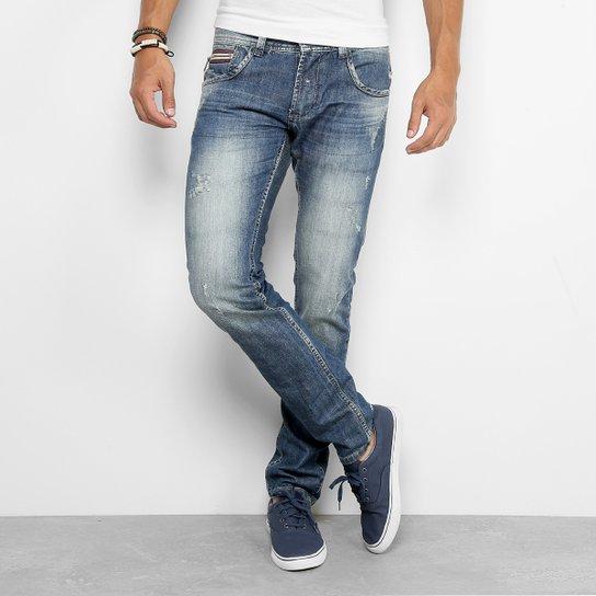 7ac6ec9f0 Calça Jeans Skinny Sawary Masculina   Netshoes