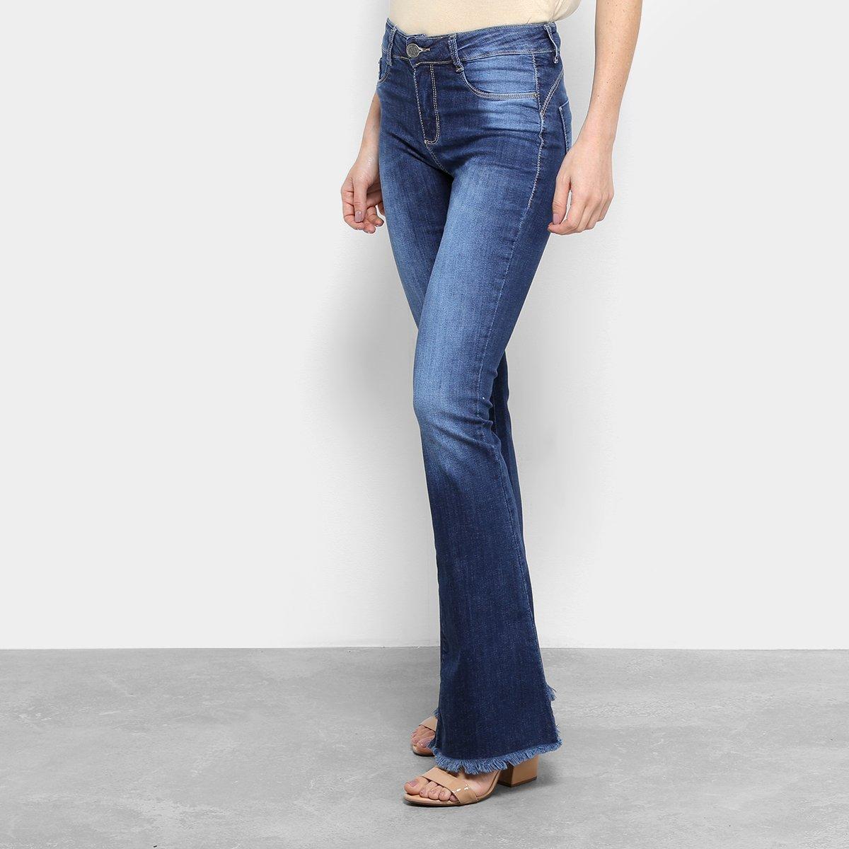 822aa95c8 Calça jeans flare sawary estonada cintura média feminina undefined jpg  1200x1200 Undefined sawary calcas femininas