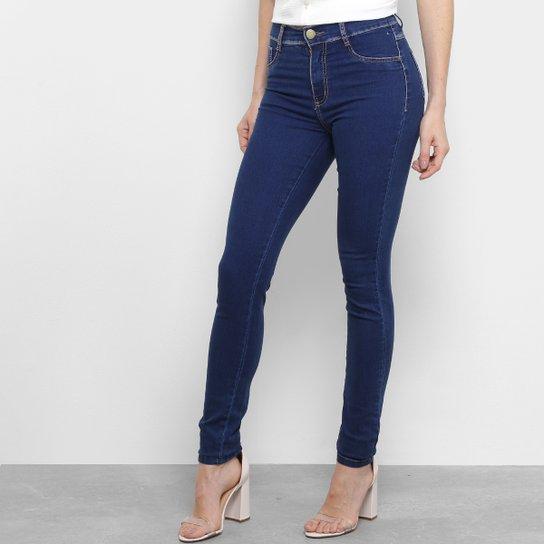 Calça Jeans Skinny Sawary Cintura Média Feminina - Compre Agora ... edff6bf2268