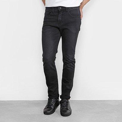Calça Jeans Slim Foxton Estonada Masculina
