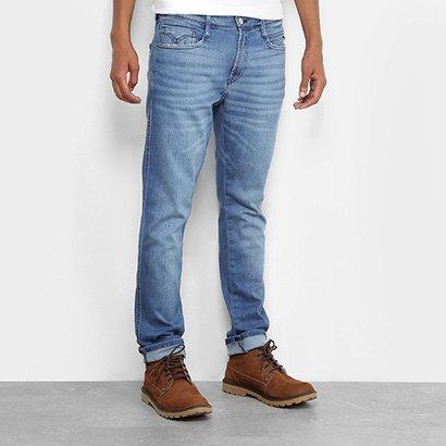 Calça Jeans Skinny Replay Estonada Masculina