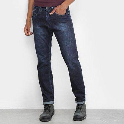 Calça Jeans Reta Replay Estonada Masculina