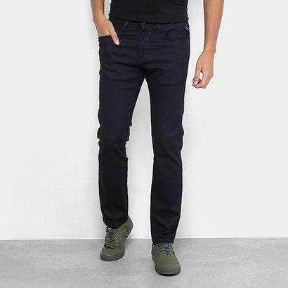 Calça Jeans Reta Replay Anbass Masculina
