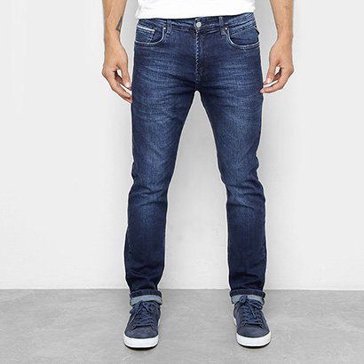 Calça Jeans Slim Replay Masculina