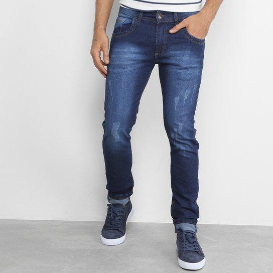 0bd613b09a Calça Jeans Slim Fit Coffee Masculina - Compre Agora
