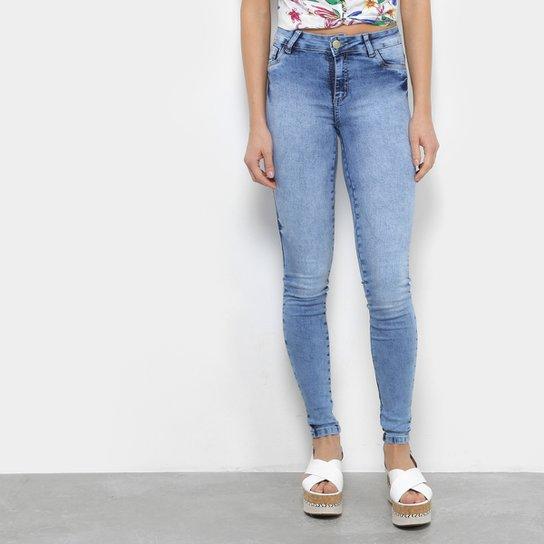 ab5d3d232 Calça Jeans Skinny Coffee Marmorizado Cintura Média Feminina | Netshoes