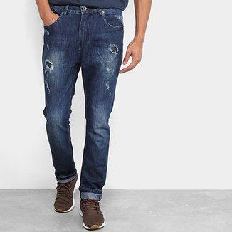 Calça Jeans MCD Denim New Slim Destroy Masculina f2d25ca3ce0