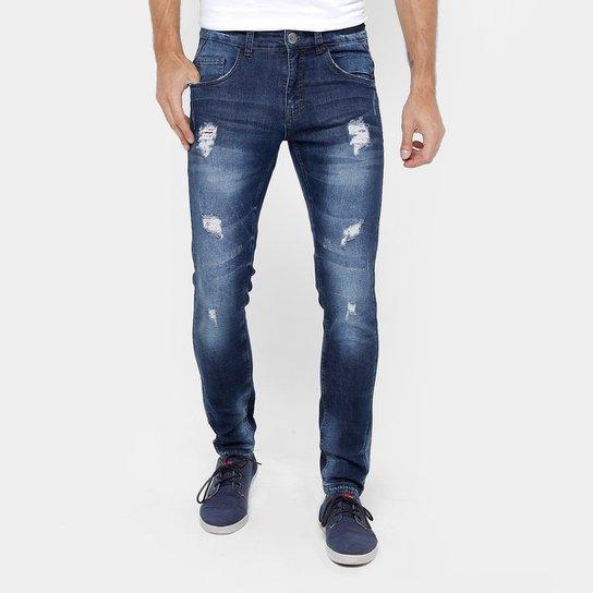 1a32ad7e4 Calça Jeans Skinny Rock & Soda Rasgos Masculina - Jeans   Netshoes