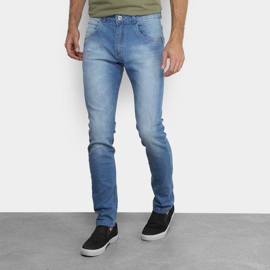 Calça Jeans Skinny Rock   Soda Estonada Masculina - Azul - Compre ... 04deeba7cd008