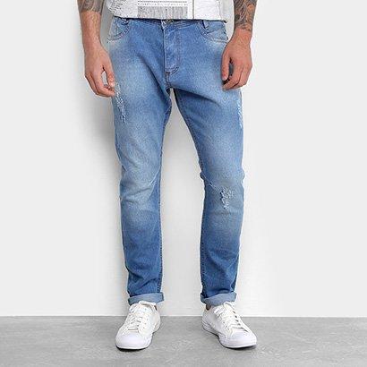Calça Jeans Skinny Gangster Masculina