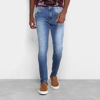 Calça Jeans Skinny Gangster Estonada Masculina 8053d3f3f59