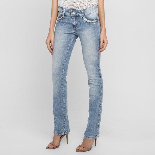 2ddbd7ebf Calça Jeans Biotipo Reta Clara | Netshoes