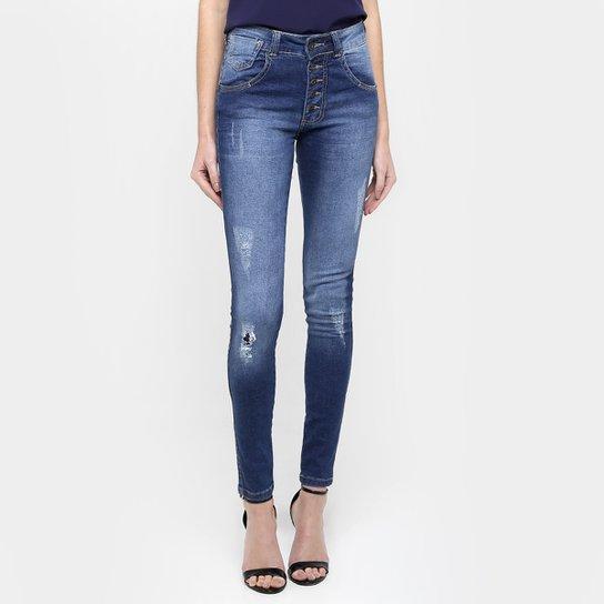 Calça Jeans Biotipo Skinny Puídos - Compre Agora  8cfb95cc58e