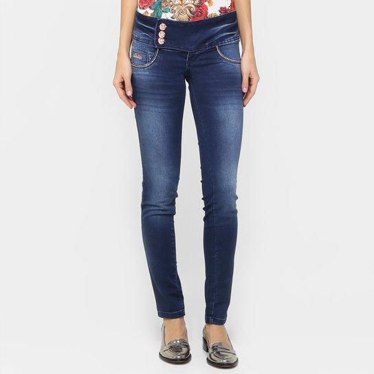 a981f4ae5 Calça Jeans Biotipo Skinny Strass   Netshoes