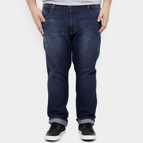 2ed1d3c55d4635 Calça Jeans Biotipo Slim Stone Plus Size Masculina - Jeans