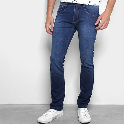 Calça Jeans Slim Biotipo Fit Estonada Masculina