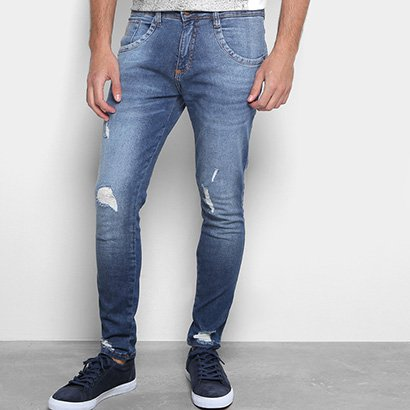 Calça Jeans Skinny Biotipo Rasgos Masculina