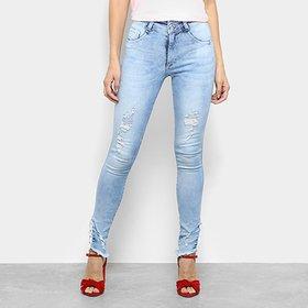 af7e4f241 QUEM VIU ESTE PRODUTO, TAMBÉM GOSTOU. -60%. ZATTINI · Calça Jeans Skinny  Biotipo Cintura Média Feminina