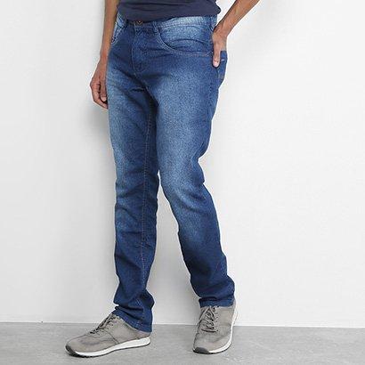 Calça Jeans Slim Biotipo Estonada Básica Masculina