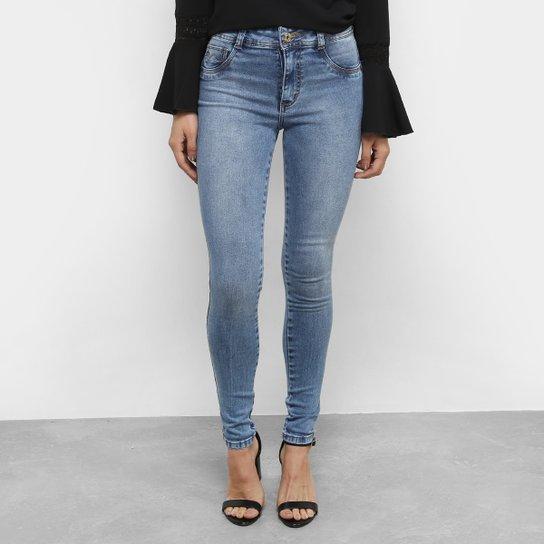 ba2d2b9ea Calça Jeans Skinny Biotipo Clara Cintura Média Feminina | Netshoes