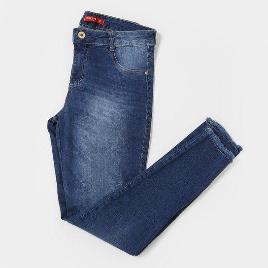 20963c66249bf1 Calça Jeans Plus Size Biotipo Cintura Média Feminina - Azul