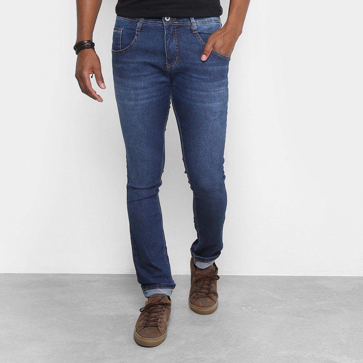 21b23c74a Calça Jeans Skinny Biotipo Masculina