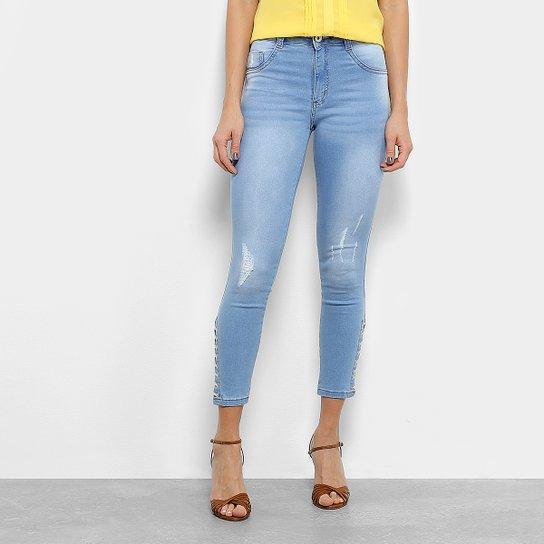 bc255e8ef Calça Jeans Biotipo Skinny Amarração Feminina - Jeans | Netshoes