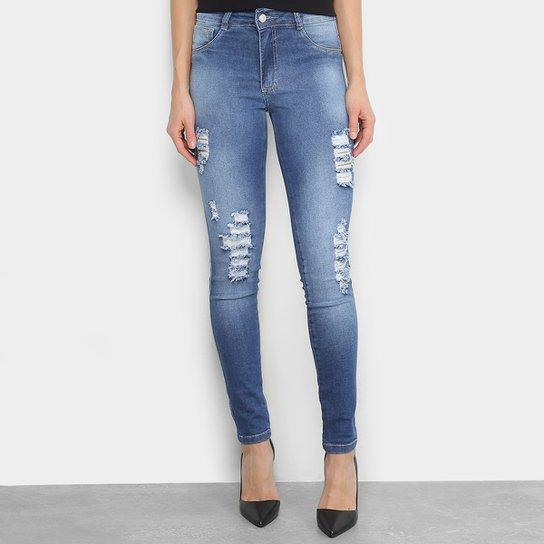 2adca4847 Calça Jeans Skinny Biotipo Estonada Cintura Alta Feminina - Compre ...